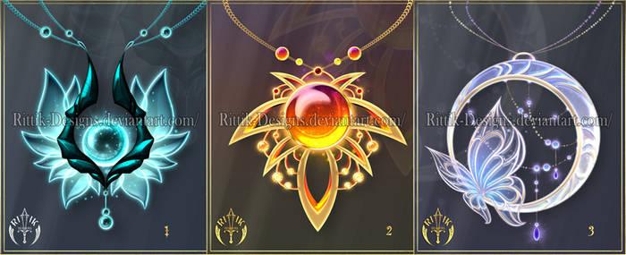(CLOSED) Magic items adopts 28 by Rittik-Designs