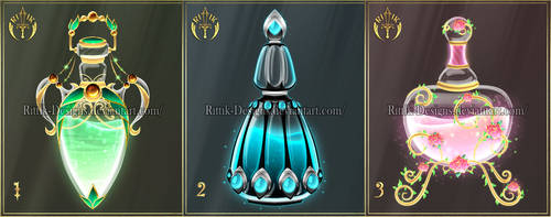 (CLOSED) Potions adopts 16 by Rittik-Designs