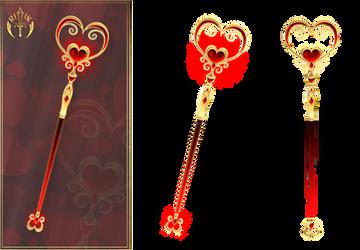 Valentine's Staff (free stock)