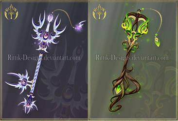 (CLOSED) Keyblades adopts 5 by Rittik-Designs