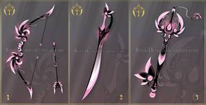 (CLOSED) Dark Sakura set