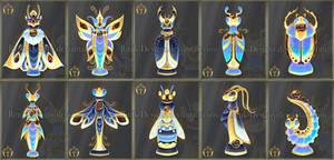 Zodiac Chess set (Aquarius)