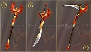 (CLOSED) Flaming Phoenix set