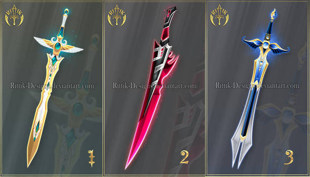 (OPEN) Swords adopts 66 - Auction