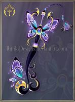 (CLOSED) Dark Butterfly Keyblade