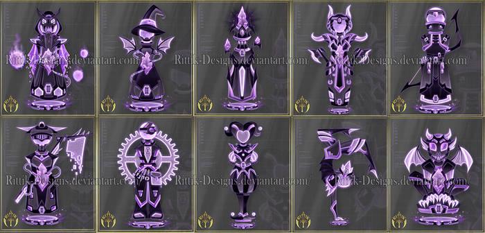 Zodiac Chess set (Gemini) - 4
