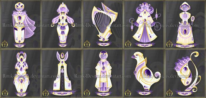 Zodiac Chess set (Gemini) - 5