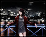 Cyberpunk Street Angel (WIP)