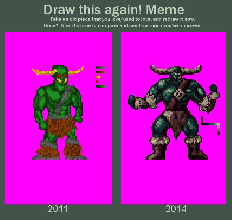 Draw this again! - Troll
