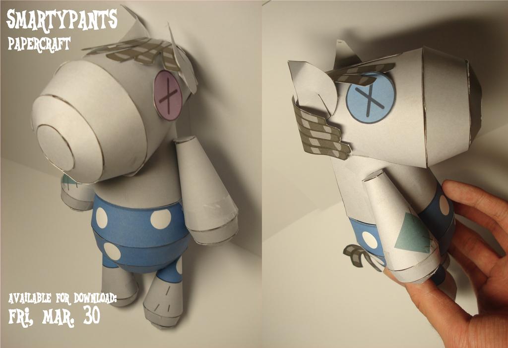 Smarty Pants Papercraft (MLP) by RocketmanTan