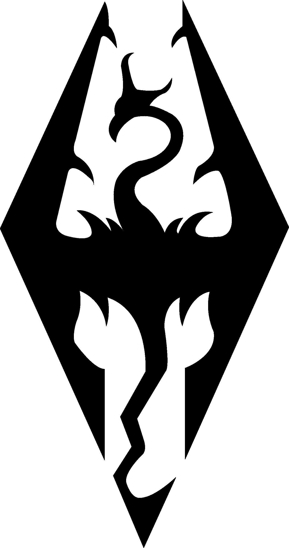 Elder Scrolls - Seal of Akatosh Vector