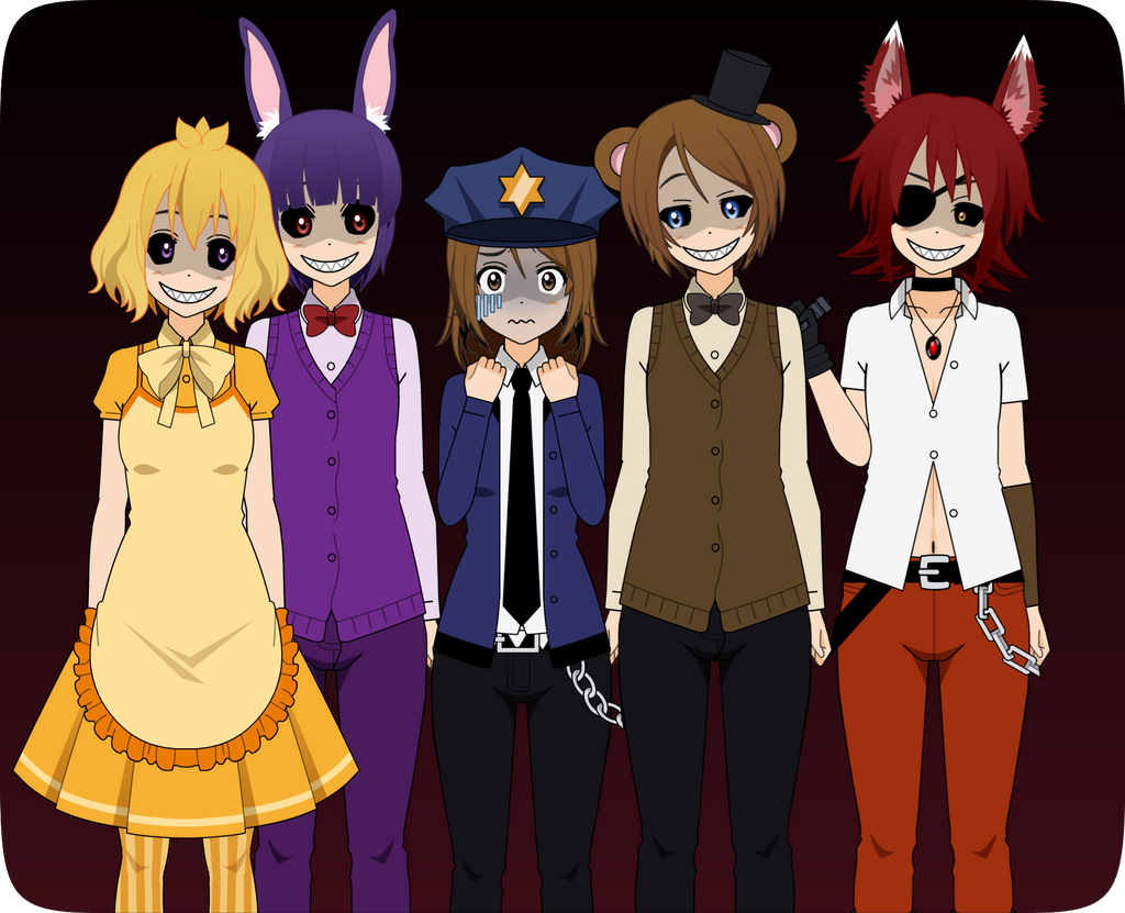 five nights at anime