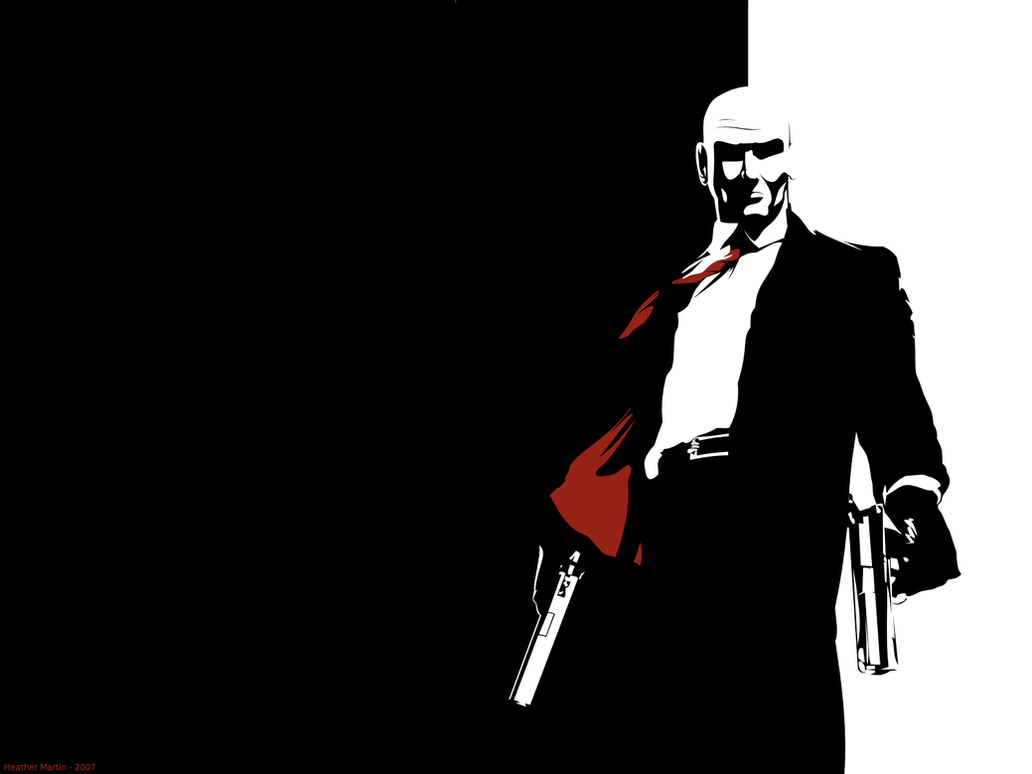 Magnificent hitman piano wire ideas electrical and wiring hitman wallpaper black version by steam10 on deviantart buycottarizona Gallery