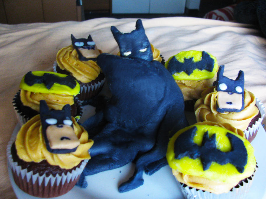 Batman Cupcakes By Lifeslemonade On DeviantArt