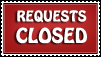 Requests Closed Stamp by sorato-lover