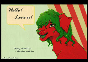 Giftart : Hello I love u by Osato-kun