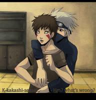 Kakashi x Kiba : What's wrong