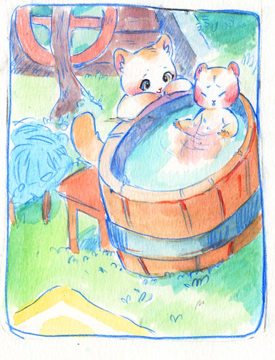 bath time by Osato-kun
