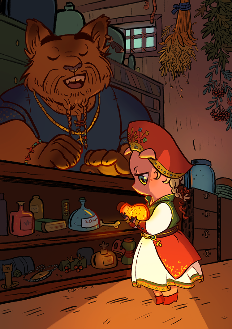 magic shop by Osato-kun