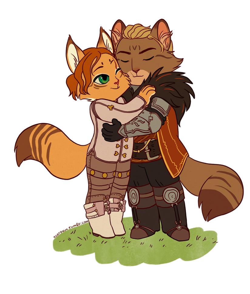 Cullen and Alexis by Osato-kun