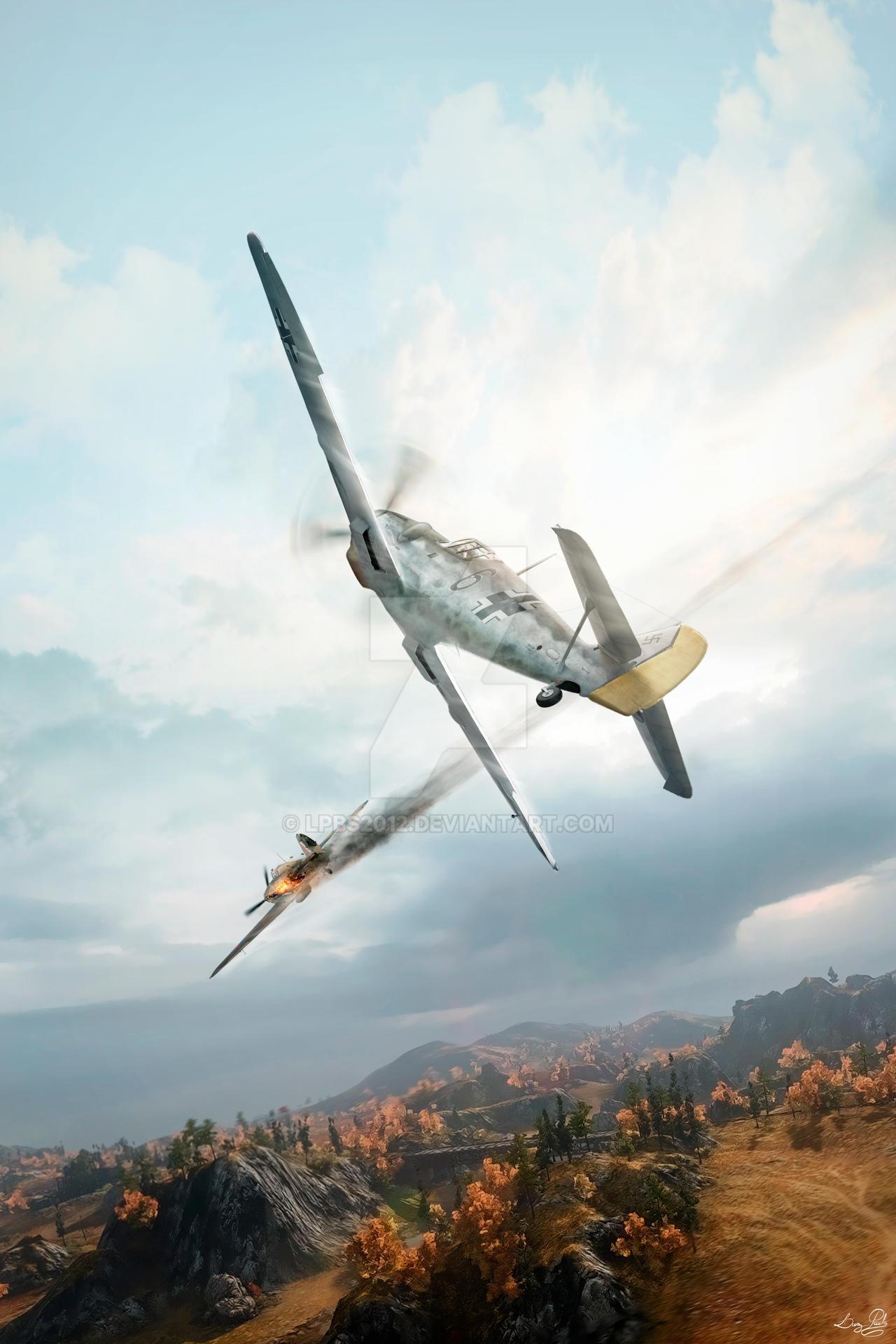 Messerschmitt Bf 109 by LPBS2012
