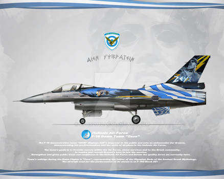 Profile Hellenic Air Force F-16 Demo Team Zeus