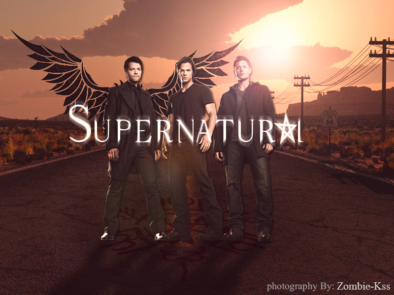 Supernatural Wallpaper by ZombieKss on DeviantArt