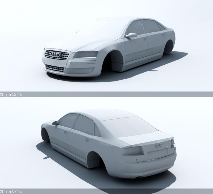 Audi A8 L 6.0 Quattro By Killinghurtz On DeviantArt