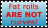 Fat Rolls vs Curves by I-am-Britta