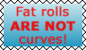 Fat Rolls vs Curves by I-am-Britta