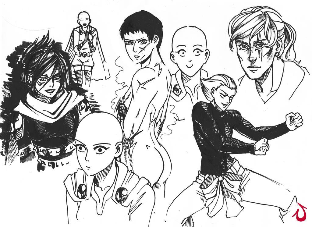 Gender-bender Onepunch-man (3) by Shia-Rina