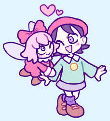 adeleine and ribbon by kcdoos