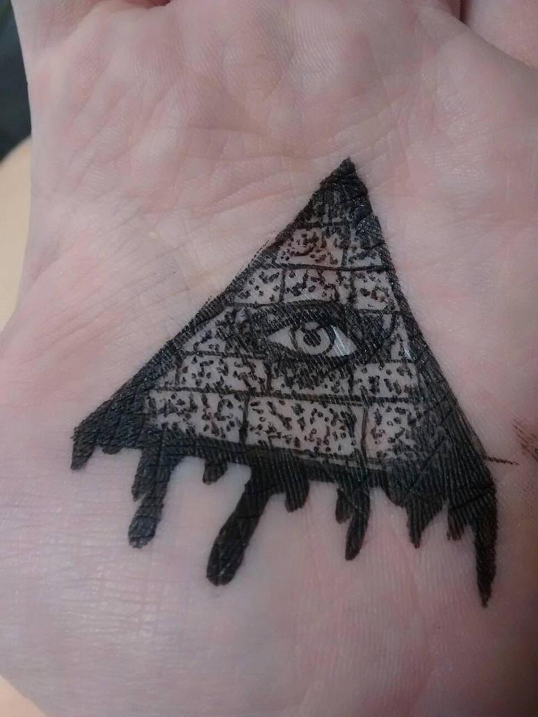 all seeing eye tattoo design by anadrawsthings on deviantart. Black Bedroom Furniture Sets. Home Design Ideas