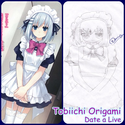 Tobiichi Origami Drawing by YanderePrincess023 on DeviantArt