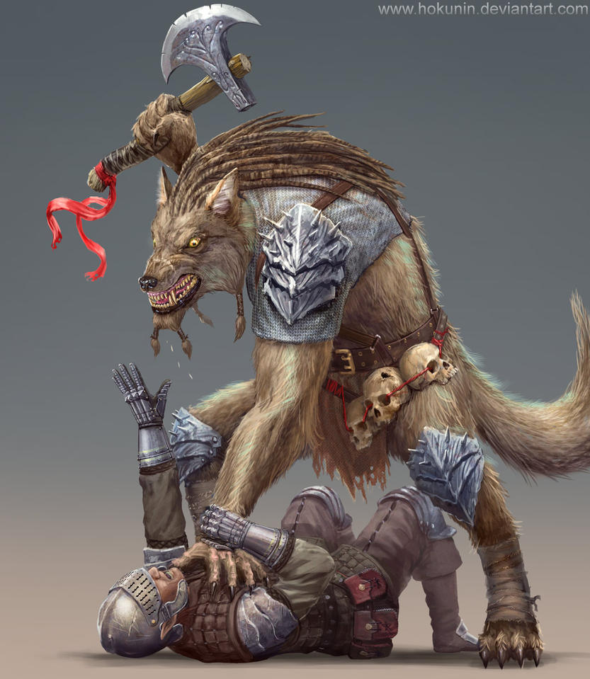 Werewolf by Hokunin