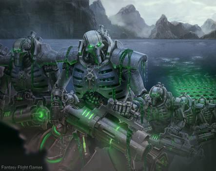 Immortal legion by Hokunin