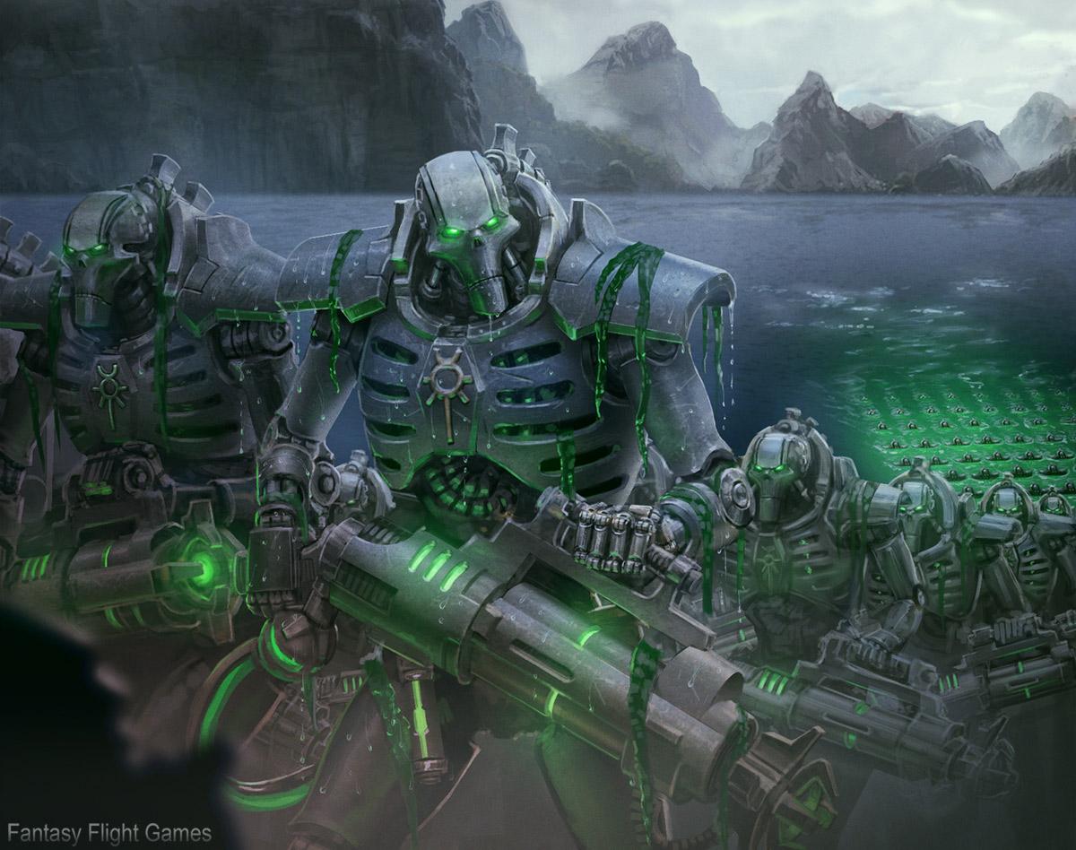 Human World Army (Toriko) Vs Damnos Necrons (Warhammer 40K