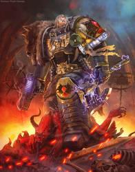 Morkai Rune Priest by Hokunin