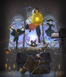 Agents of Cross by Hokunin