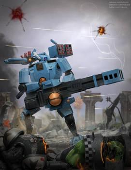 Tau Broadside Battlesuit