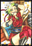 Firecracker Jinx Art Trade