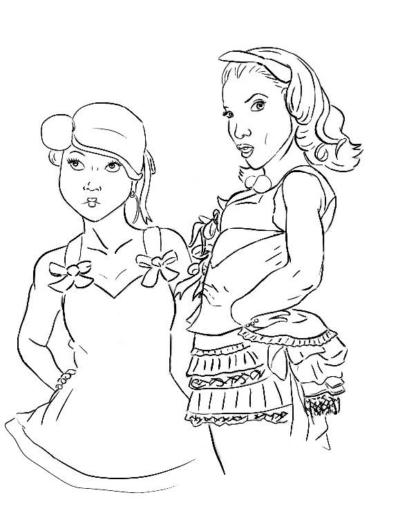 Gwen Steffani and a Harajuku girl by Alisha-town