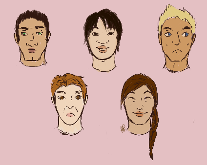More face practice by Alisha-town