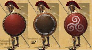 Hoplite Concept Shields