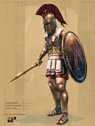 Hoplite Concept by Dstolpmann