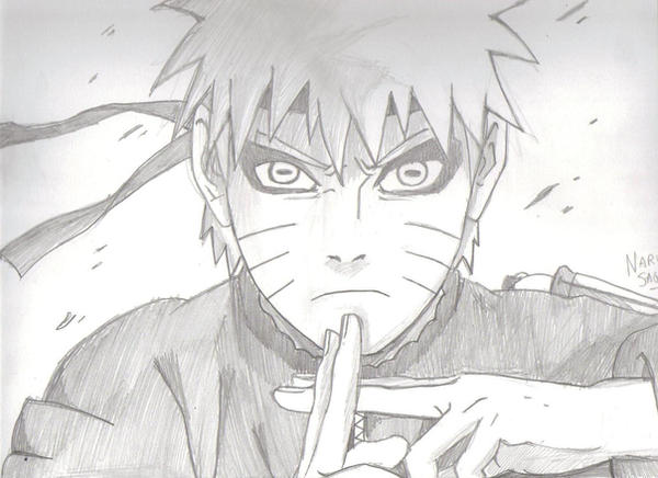 My draw of Naruto Sage Mode by Shino93 on DeviantArt