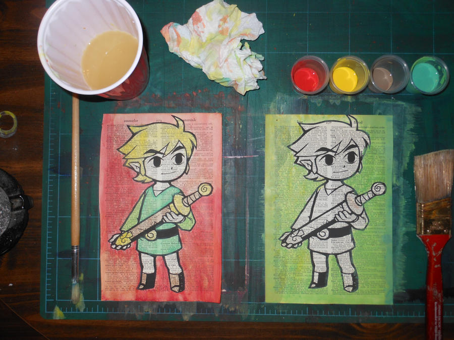 Link Prints by beanzomatic