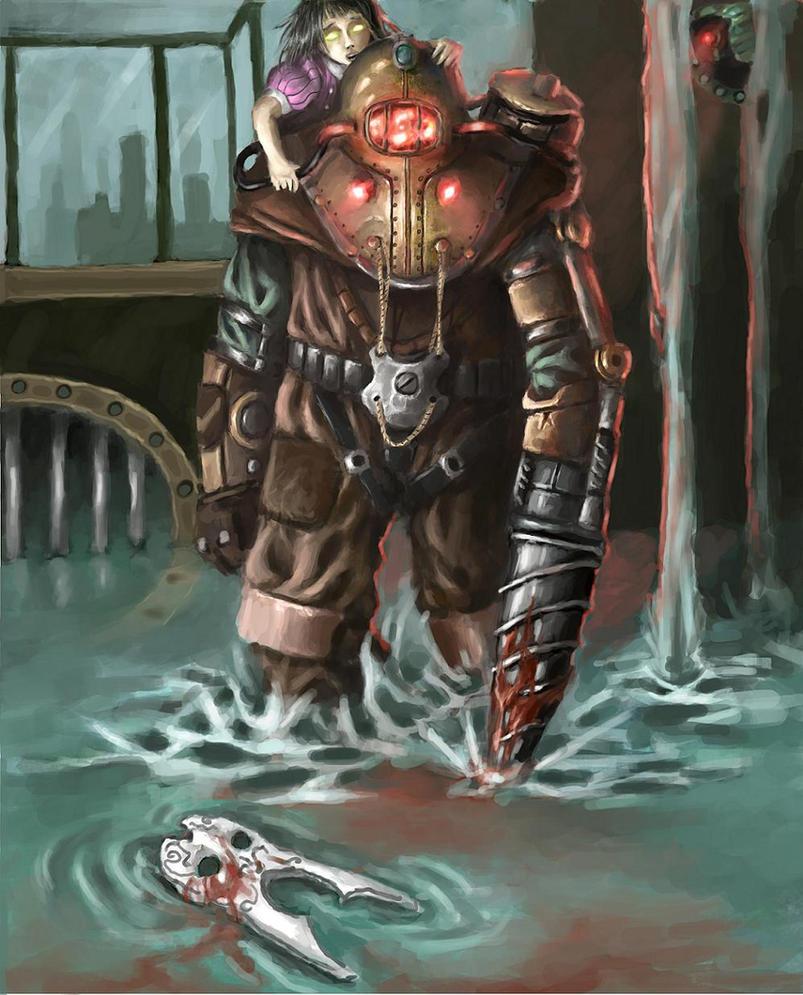 Bioshock 2 - Big Daddy Delta by Adzerak
