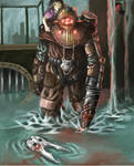 Bioshock 2 - Big Daddy Delta