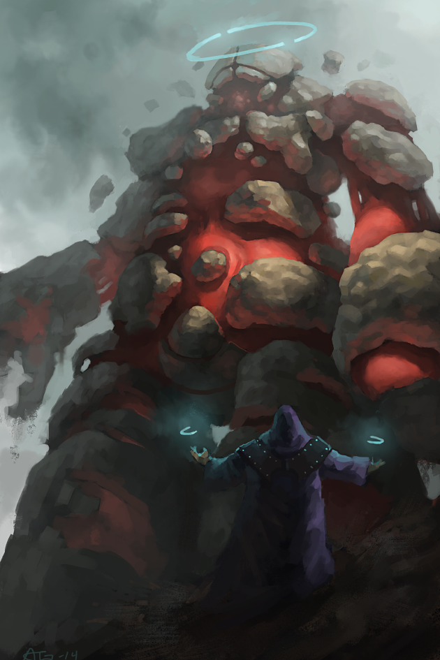 Master Of Golems Final by Adzerak
